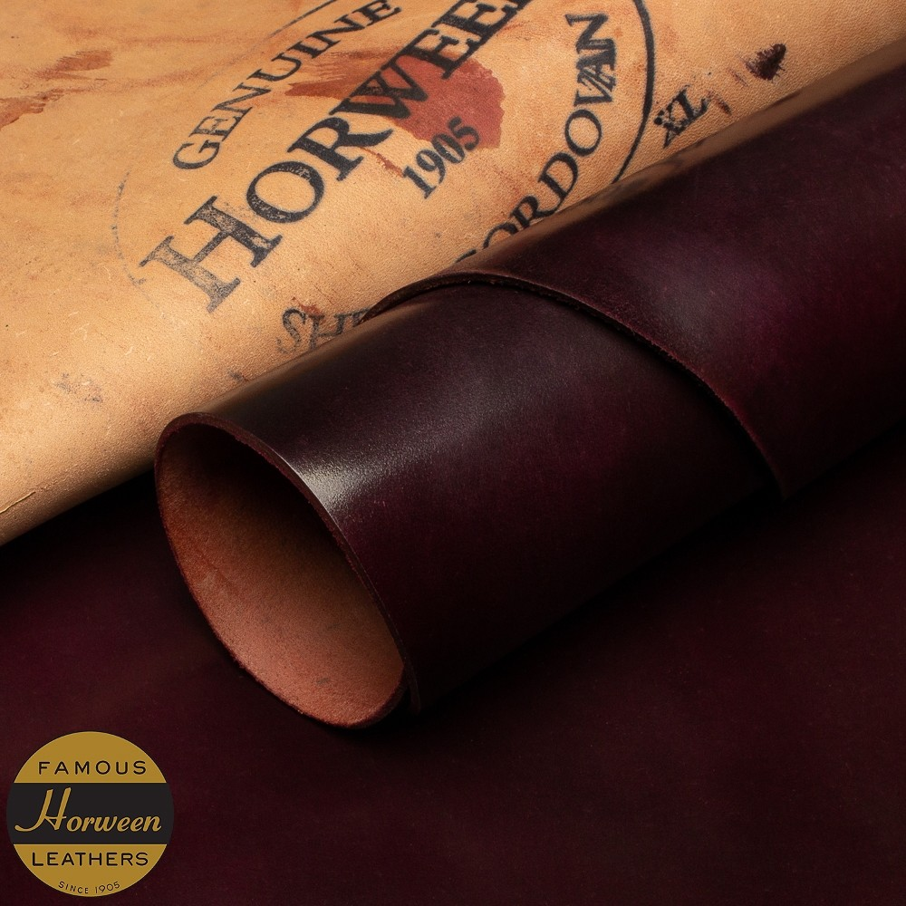 HORWEEN GENUINE SHELL CORDOVAN® - #8 - 1.0/2.0mm