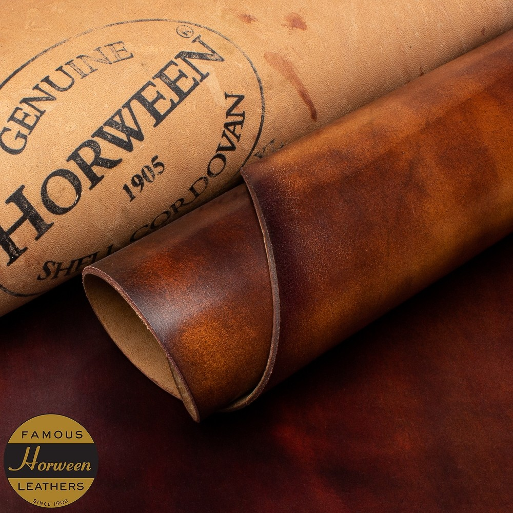 HORWEEN GENUINE SHELL CORDOVAN® - MARBLE #8 - 1.0/2.0mm