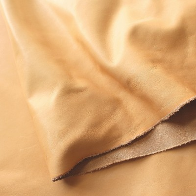 VEGETABLE TANNED SOFT TOOLING (FRONTS) - NATURAL - 0.9/1.1mm