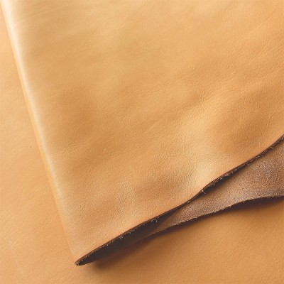 VEGETABLE TANNED SOFT TOOLING (FRONTS) (ECO) - NATURAL - 1.4/1.6mm
