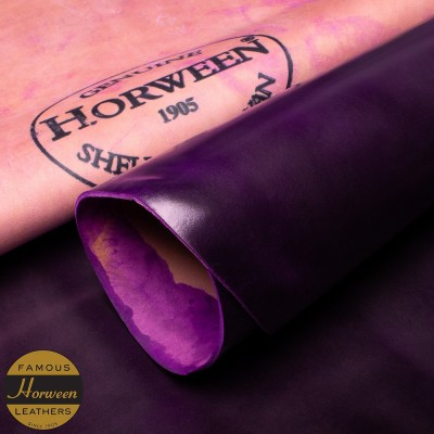 HORWEEN GENUINE SHELL CORDOVAN® - ULTRA VIOLET - 1.0/2.0mm