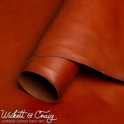 WICKETT & CRAIG ENGLISH BRIDLE - CHESTNUT - 1.0/1.2mm (2-3oz)